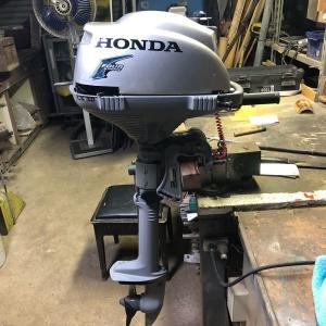 激安中古のホンダ2馬力を新型にチェンジ!