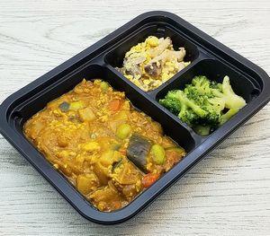 ヨシケイ・シンプルミール「たっぷり野菜のキーマカレー」を食べました