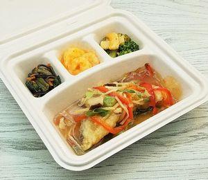 nosh-ナッシュ「白身魚の野菜あんかけ」を食べました