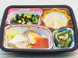 ベルーナ宅菜便・ほほえみ御膳「白身魚のトマトソースセット」を食べました