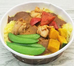コープの冷凍弁当・DELICIOUS BOWL「彩り野菜の入ったごろっとチキンカレー」