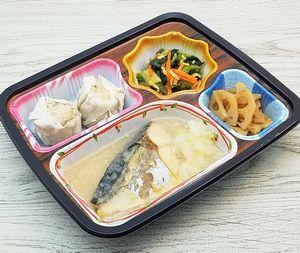 ベルーナ宅菜便・ほほえみ御膳「サバの味噌煮セット」を食べました