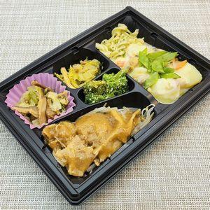ワタミの宅食・まごころダブル「あさりと野菜のクリームシチュー&豚肉と玉ねぎの焼肉風」