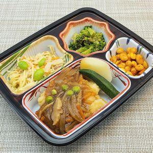 ベルーナ宅菜便・おふくろ御膳「白身魚の野菜あんセット」を食べました