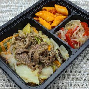 ヨシケイ・シンプルミール「牛肉の塩だれ炒め」を食べました