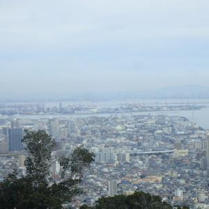 旗振山から見る神戸