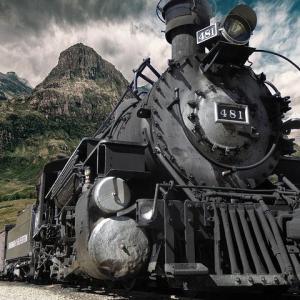 【自然音】電車・機関車の走行音。1/fの揺らぎで眠りに落ちる。