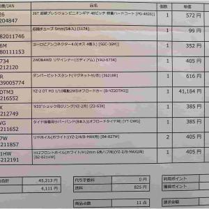 お楽しみの出費報告 まったくYZ-2 DTM3ってやつは金がかかりやがる