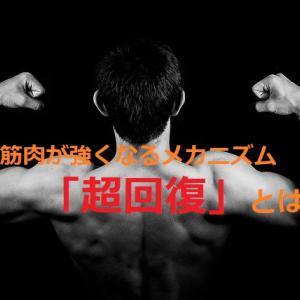 筋肉が強くなるメカニズム「超回復」とは