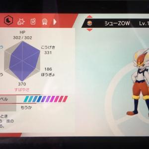 【ポケモン剣盾(ソードシールド)】ランクバトルでスーパーボール級まで到達したパーティー。