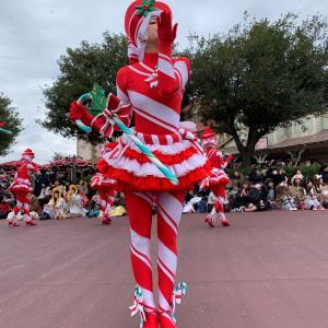 ディズニーランド クリスマス④ 美女と野獣とアナとエルサ
