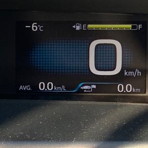 初雪 -10°Cの世界