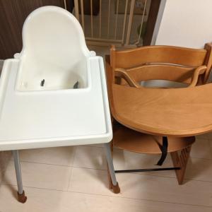 テーブル付き子供用食事椅子 マジカルチェアとIKEAのANTILOPを比較!