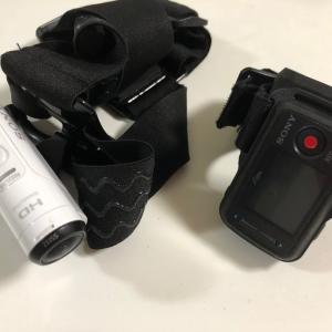 アクションカメラを付けて狩猟