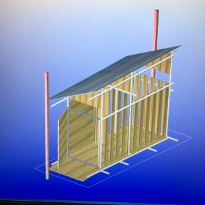 小屋の設計