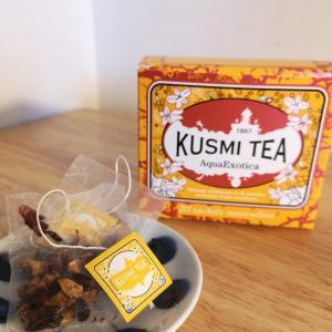 香りから癒される パリのティーメゾン KUSMI TEAがおすすめ