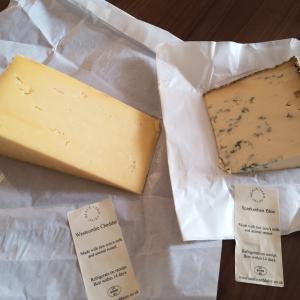 オーダーしていたSave British Cheeseが届いたよ!