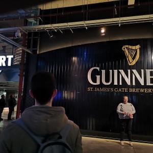 アイルランド旅行 もう一度行きたい ギネスストアハウス