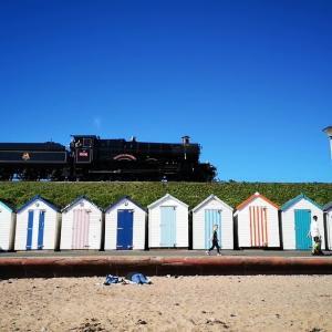 【イギリス】 ビーチを走るSL機関車・おすすめスポット~Goodrington sands~