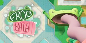 カエルの対戦ゲーム Frog Bath フロッグバス