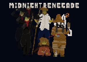 2D横スクロールアクションゲーム Midnight Renegade