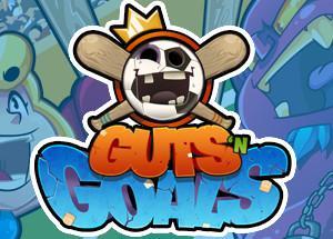 2Dオンライン対戦サッカーゲーム Guts 'N Goals