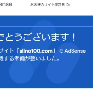 Google AdSenseの審査に一発合格 ですが正直予想外でした