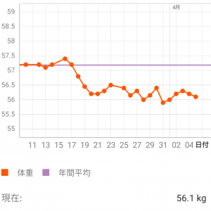 ダイエット13週目【お菓子食べたい欲発散週間】