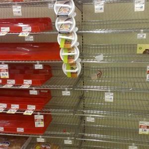 スーパーやコンビニから食べ物が無くなる?最低1か月は持ちこたえる為の【栄養満点なバランス非常食は何が良い?】