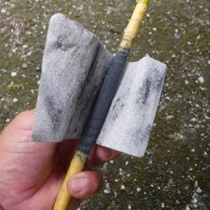 鮎竿の修理(その3)