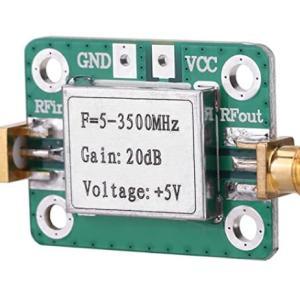 DF9NPのPLL出力に広帯域アンプを接続してみた
