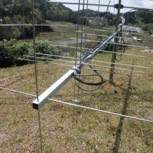 2mEME用アンテナに水平偏波用エレメントを追加