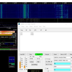 AFE822x SDR-VHFx2で遊ぶ(その2)