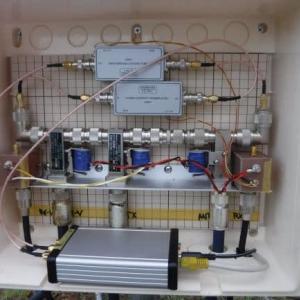 AFE822xSDRをアンテナ直下に設置してMAP65を運用
