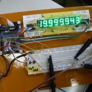 Cyclone IIで周波数カウンタを製作