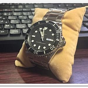 セイコーの腕時計「SKX031」7S26-0040を分解して改造する