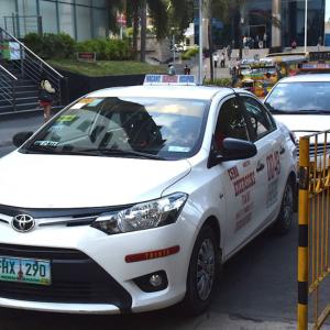 【移動手段】タクシーが一番!