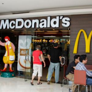 【ファーストフード】もちろんマクドナルドもあります!
