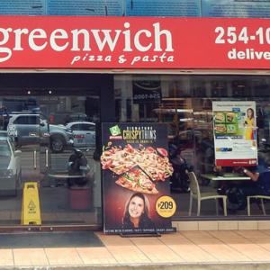 【ファーストフード】ラザニアが美味しいピザ屋グリニッジ!