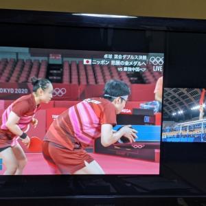 卓球・金メダル!体操・銀メダル!