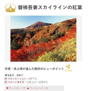 秋の福島遠征