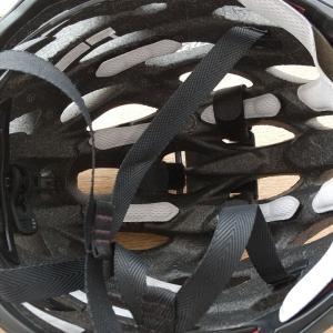 ヘルメットのインナーパッド