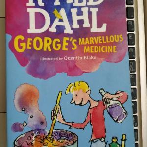 ある意味サイコな小学生とその家族の話(英語の童話)―『GEORGE'S MARVELLOUS MEDICINE』著:ROALD DAHL