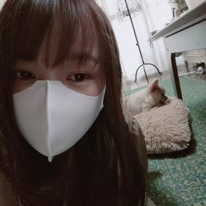 冷感マスク舐めてたわ(*≧∀≦)