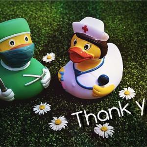 医療従事者の皆さんへ・・・心からの感謝を込めて