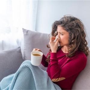 アレルギー性鼻炎が年々、症状が軽くなっています。