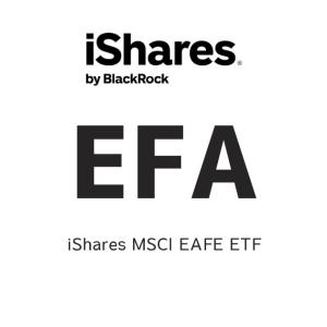 EFA(iShares MSCI EAFE ETF:iシェアーズ MSCI EAFE ETF )