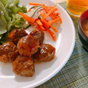 Meatball in Japanese Style -easy cooking recipes-