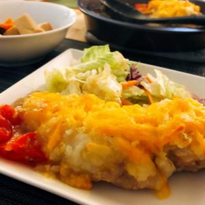 Japanese Easy Recipes -Layered Chicken & Potato with Cheese