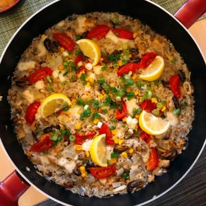 Healthy One Pot Meals – Seafood & Rice